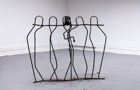 David Blackmore | Artist | Sculpture | Jacked | 2015 | London Irish Art Fair | Slade School of Fine Art