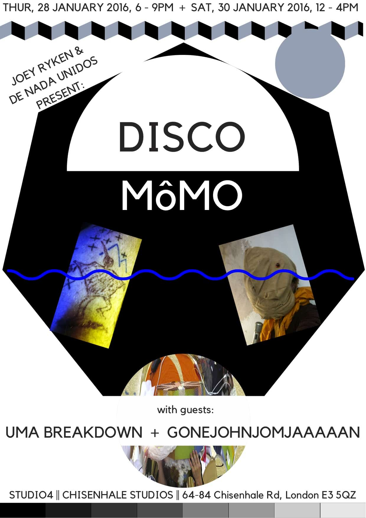 Disco Momo Poster print